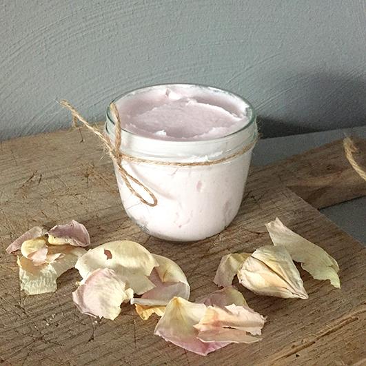 body butter - natuurlijke-biologische-vegan-ambachtelijk vk body butter roos vk
