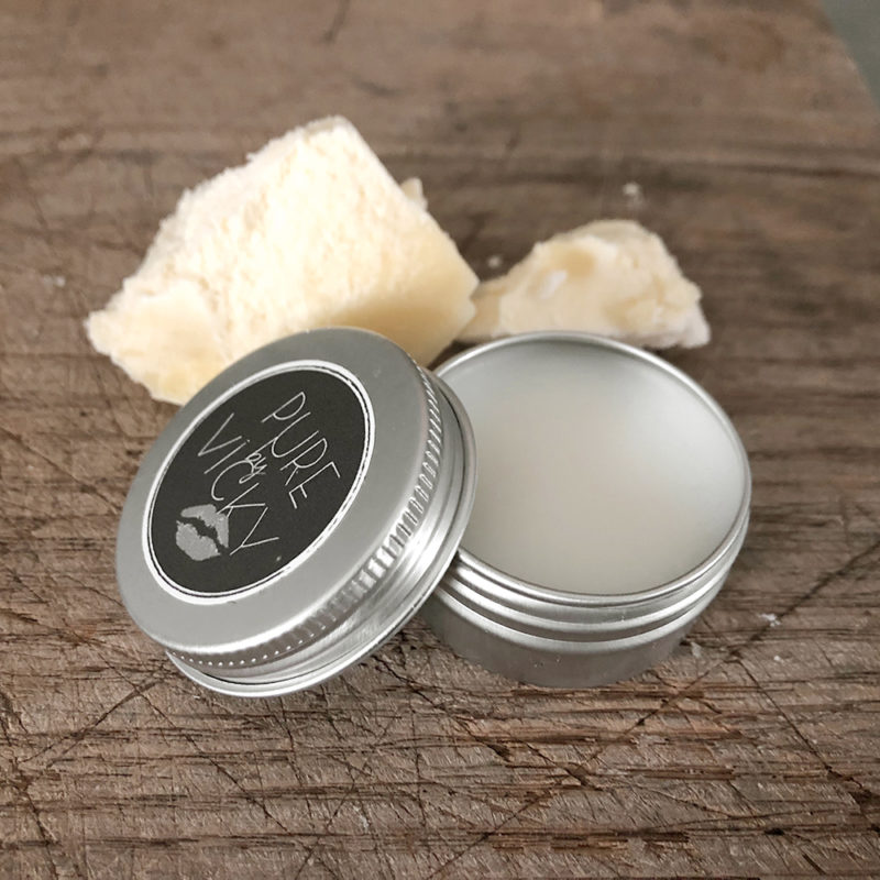 Natuurlijke lipbalsem-ambachtelijk gemaakt- sheaboter -veganvk