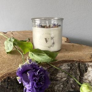 Koolzaadwas kaars- natuurlijke kaars - handgegoten - handgemaakt - ambachtelijk gemaakt -Teake it easy-1
