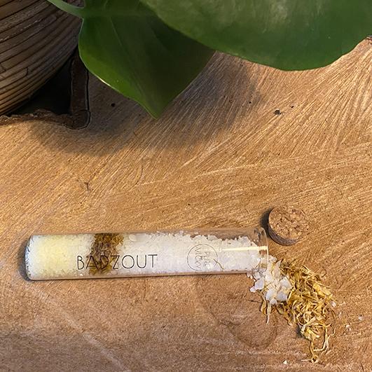 Badzoutbuisje - ambachtelijk gemaakt handgemaakt epsom zout magnesium zout Calendula-2-vk