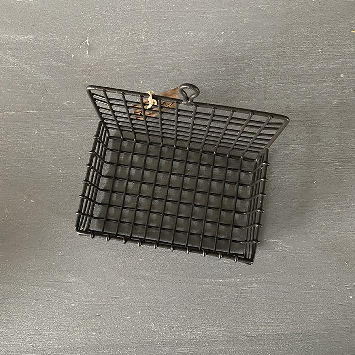 zeepbakje ophang zwart ijzer - natuurlijke ambachtelijke zeep-zij